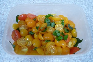 Frozen Cherry Tomatoes